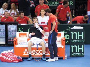Davis Cup Semi-Final in Glasgow – Great Britain v Australia